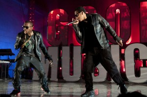 Jay-Z and Kanye West Watch the Throne Tour