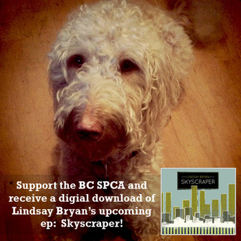 Lindsay Bryan EP Pre-Release Supports BCSPCA