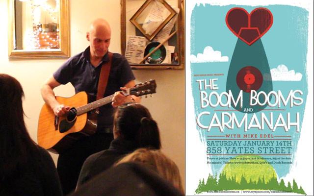A Fun Evening With John Mann, Caramanah & The Boom Booms