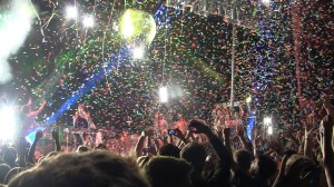 End of The Flaming Lips Set